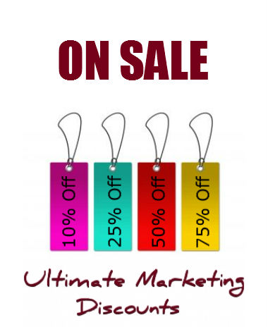 Ultimate Marketing Discounts